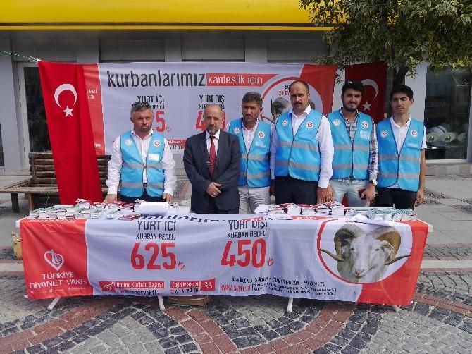 Diyanet İşleri Başkanlığı'nın 'Vekalet Yoluyla Kurban Kesim Kampanyası' Edirne'de Başlatıldı