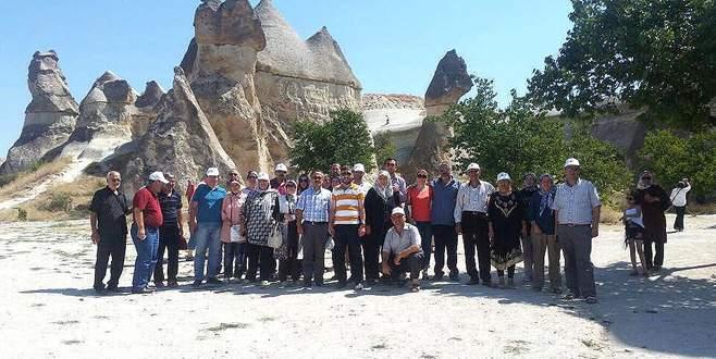 Orhangazili muhtarlar Kapadokya'yı gezdi