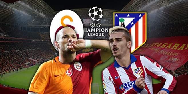 Galatasaray-A. Madrid maçı saat kaçta hangi kanalda?