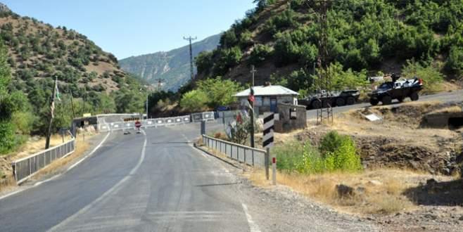 Tunceli'de yollar kapatıldı! Operasyon başladı!