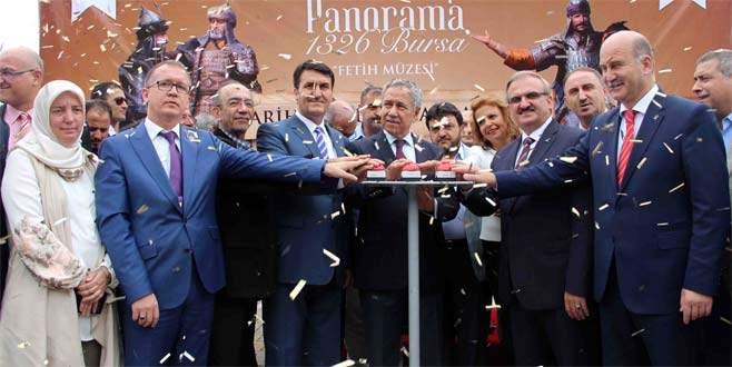 'Panorama 1326 Bursa'nın temeli atıldı