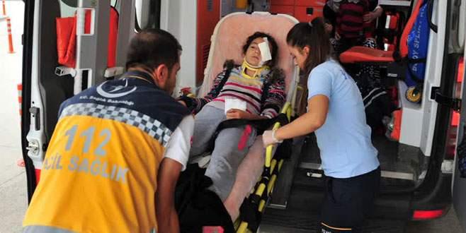 Bursa'da feci kaza! 5 yaralı