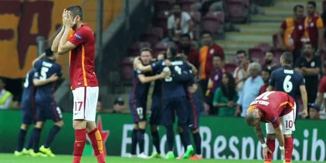 Galatasaray'ın yüzü 'Devler Ligi'nde de gülmedi