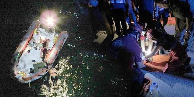 50 metrelik uçurumdan kendini denize bıraktı