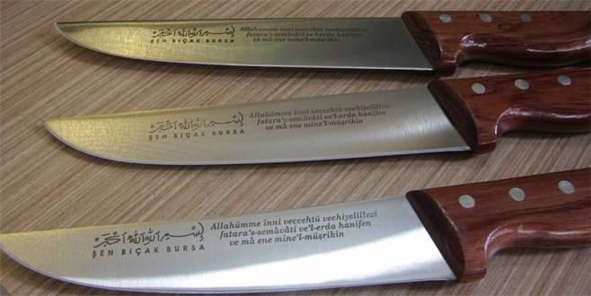 Kurban kesecekler için özel bıçak...