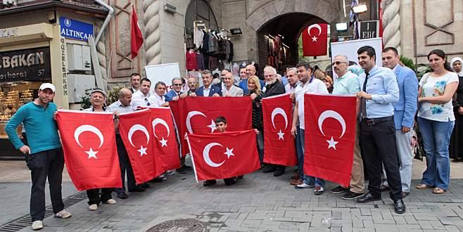 Bursa'dan 'Teröre Hayır, Kardeşliğe evet' çağrısı