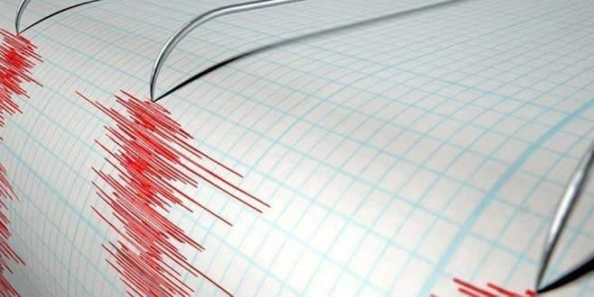 Akdeniz'de 4,8 şiddetinde deprem