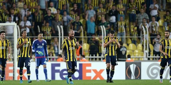Fenerbahçe Avrupa'da kötü başladı