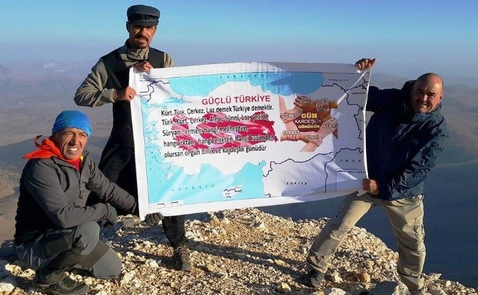Antalya Dağlarında Barış Mesajı