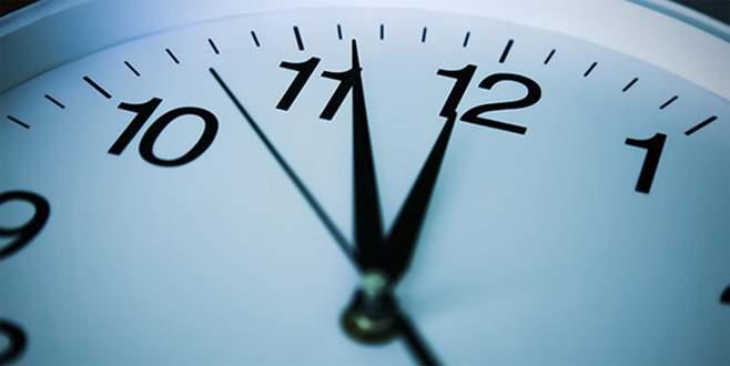 Yaz saati uygulamasında değişiklik