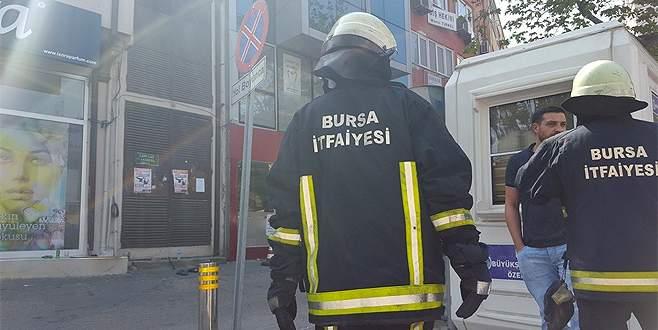 Bursa'da trafo patlaması korkuttu