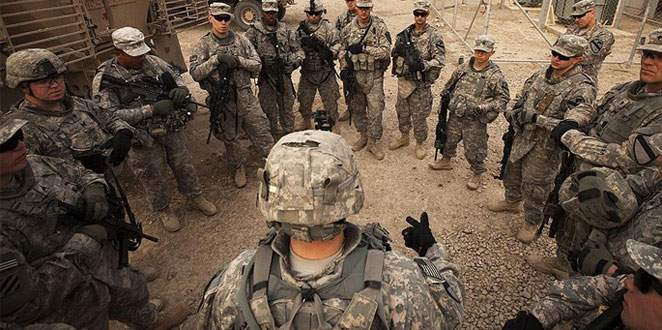ABD askerleri Irak'ta