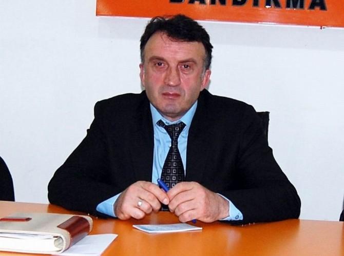 AK Parti Bandırma İlçe Başkanı İstifa Etti