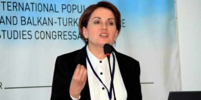 Akşener'den 'Kırgın değil, kızgınım' iddiasına yalanma