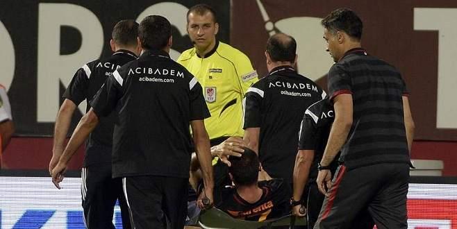 Galatasaray'a Burak Yılmaz'dan kötü haber!