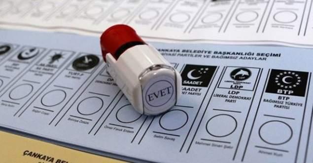 Oy pusulasında sıralama değişti