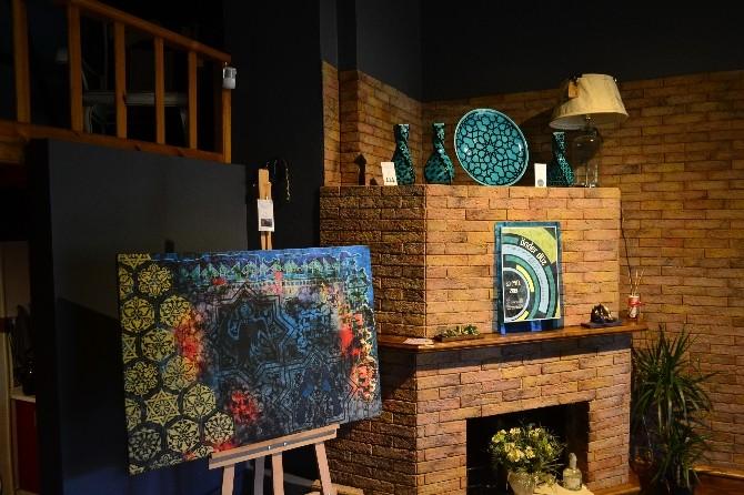 Sakaryalı Çini Sanatçısı İlk Kişisel Sergisini Açtı