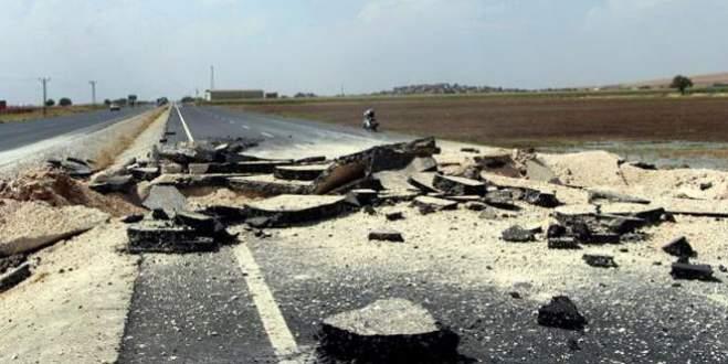 PKK'lılar İpek Yolu'nu havaya uçurdu