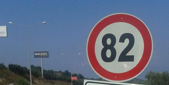 Bazı yerlerde hız limiti arttı