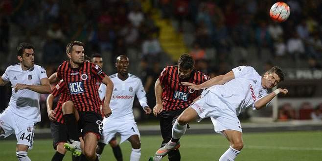 Gençlerbirliği - Beşiktaş: 1-1