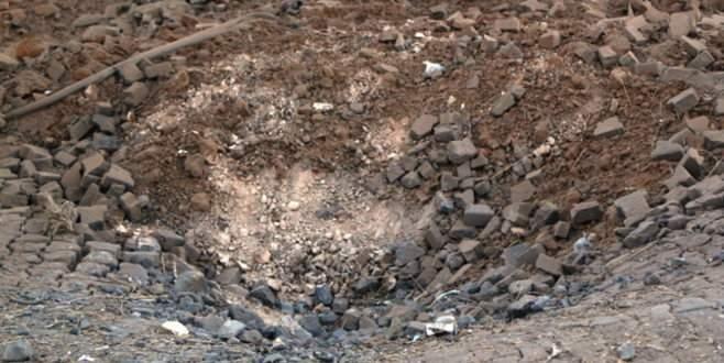 Mardin'de patlayıcı yüklü cip imha edildi