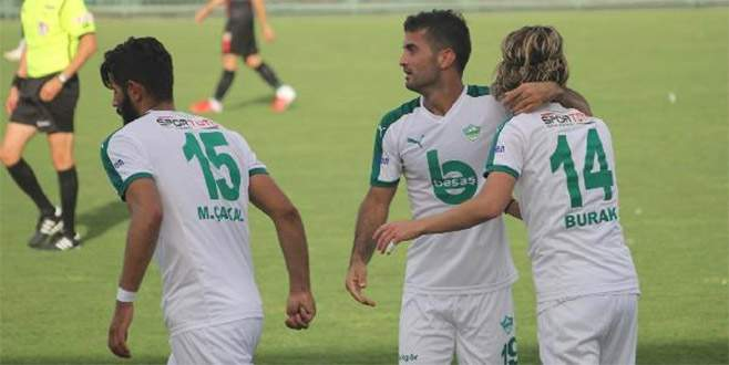Yeşil Bursa Kupa'da devam dedi