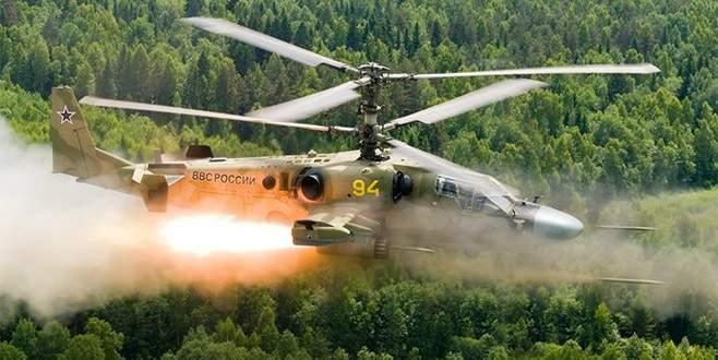 Rusya helikopteri yanlış hedefi vurdu