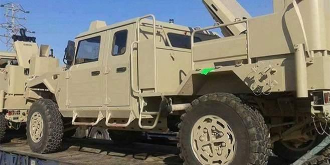 ABD, YPG'ye 120 TIR silah ve zırhlı araç gönderdi