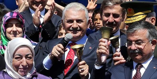 Başbakan Yıldırım ilk ders zilini Şanlıurfa'da çalacak