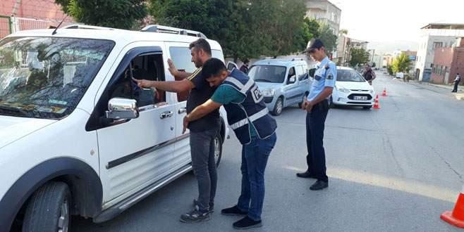 Bursa'da huzur operasyonu