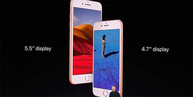 Apple, iPhone X ve iPhone 8'i tanıttı