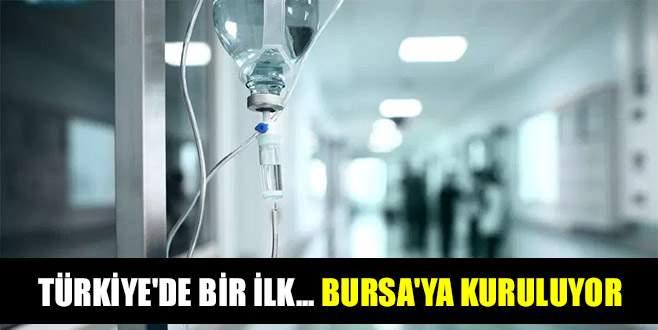Türkiye'de bir ilk... Bursa'ya kuruluyor