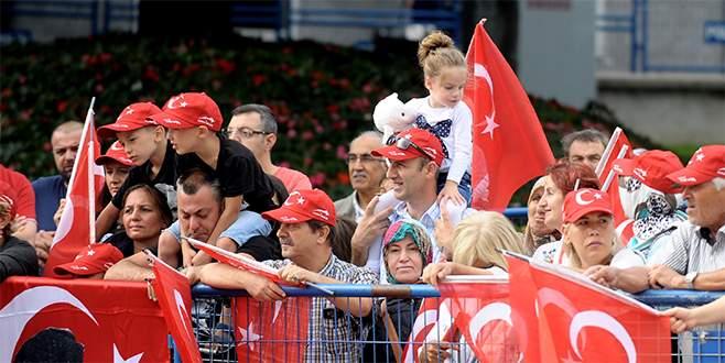 Bursa'da 30 Ağustos coşkusu