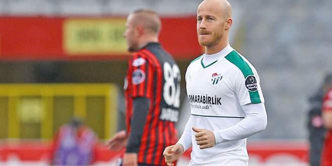 Tek mutsuz olduğum kulüp Bursaspor'du