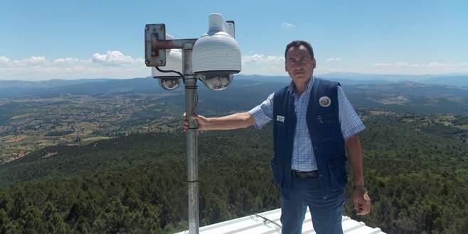 Ormanlara kameralı koruma