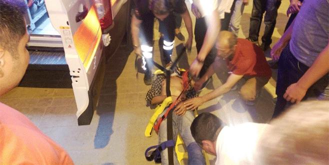 Bursa'da aranıyordu, motosiklet çarpınca yakalandı