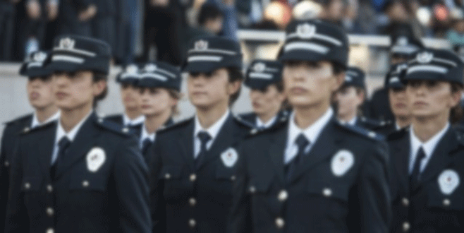 Kadın polisler başörtüsü takabilecek