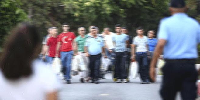 Bursa'da 546 hükümlü tahliye edildi