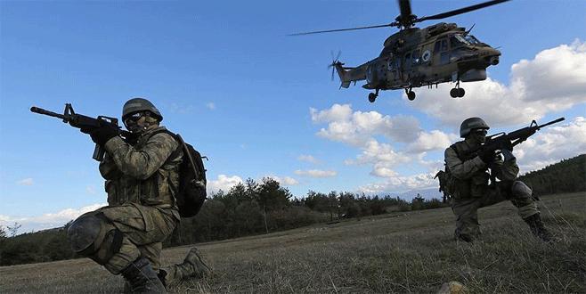 Şemdinli'de 10 PKK'lı terörist etkisiz hale getirildi