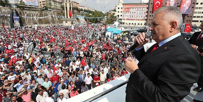 Başbakan Yıldırım: 'Tehditler bitinceye kadar faaliyetler sürecek'