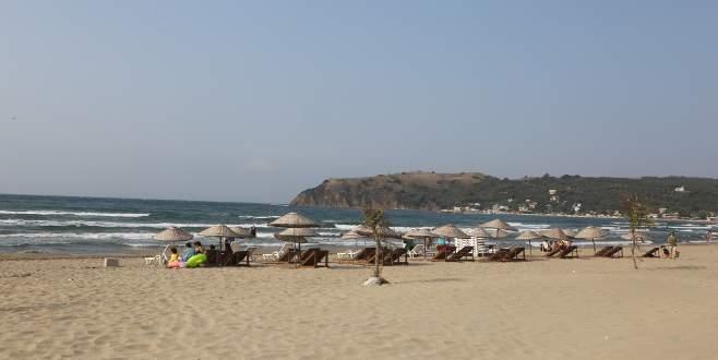 Esence sahilleri Büyükşehir ile tertemiz