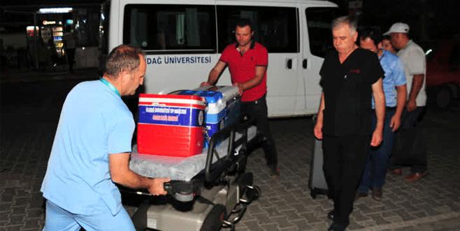 Organlarıyla Bursa'daki üç kişiye hayat verecek
