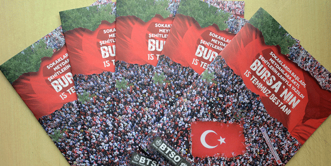 Bursa'nın 15 Temmuz Destanı' almanağı