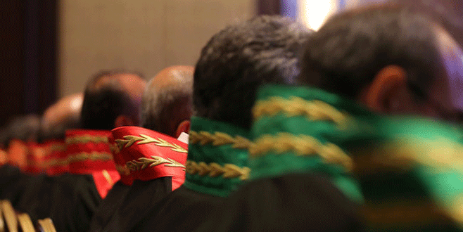 Bin 418 hakim ve savcının görev yeri değişti