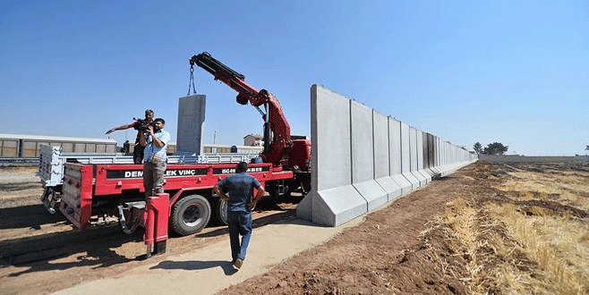 Terör örgütlerine güvenlik duvarı engeli