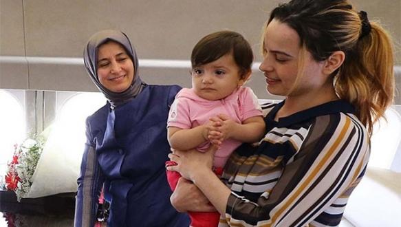 11 aylık Ela bebek yaşına ülkesinde girecek