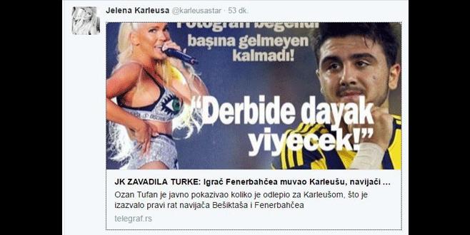 Jelena'dan Ozan için olay paylaşım!