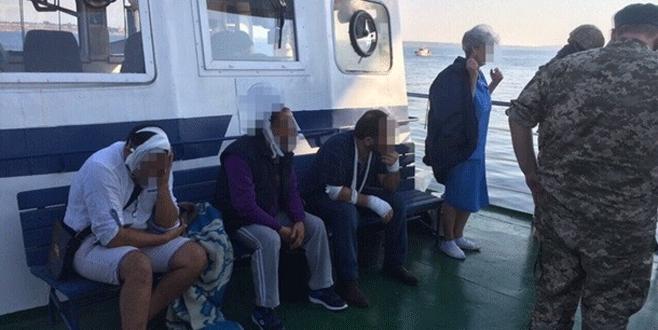 Türk gemisinde  rehine krizi