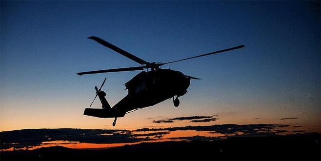Hakkari'de '3 helikopterin vurulduğu' iddiasına yalanlama