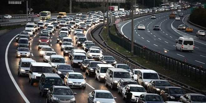 İşte trafiğe kayıtlı araç sayısı arttı